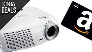 Illustration for article titled Finally Upgrade to a Projector with This Deal from Amazon