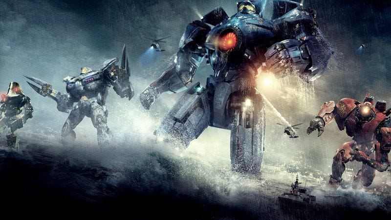 Illustration for article titled Guillermo del Toro is writing Pacific Rim 2, studio backing be damned