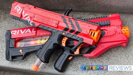 Nerf Rival Review: The Evolution Of Foam Warfare