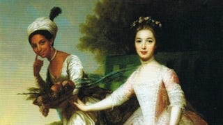 The portrait of Dido Elizabeth Belle and Lady Elizabeth MurrayUnknown artist, formerly attributed to Johann Zoffany