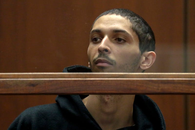 Tyler Barriss, 25, appears in extradition court in Los Angeles, CA. Photo: Irfan Khan/AP