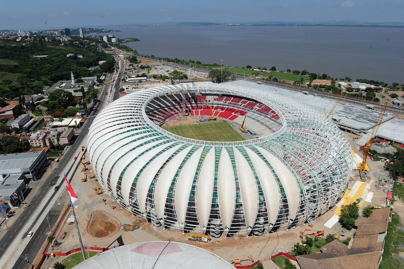 Illustration for article titled Why Your World Cup Stadium Sucks: Estádio Beira-Rio, Porto Alegre