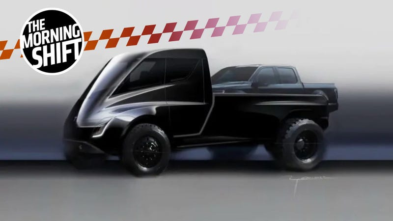 Illustration for article titled Elon Musk Has Some Wild Ideas For The Tesla Pickup Truck