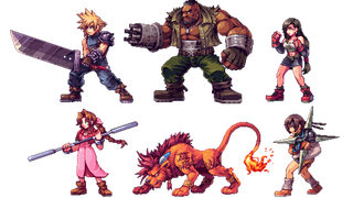 Illustration for article titled JRPG Characters Look So Good As 2D Sprites