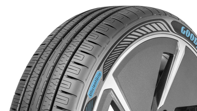 Illustration for article titled Goodyear Designed A Tire For Electric Cars That Won'tShred So Easily From All That Torque