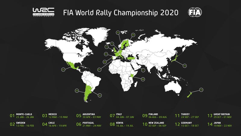 Illustration for article titled Fantasy WRC 2020: Cha-cha-changes