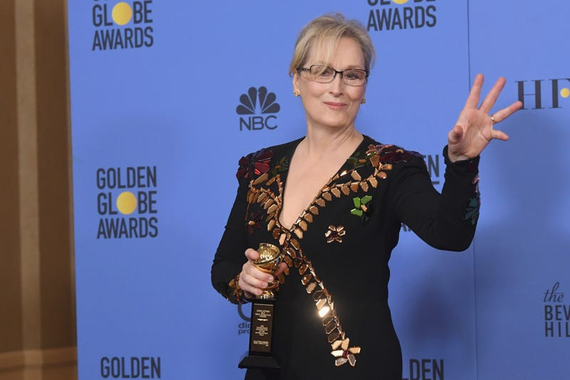 Actress Meryl Streep, recipient of the Cecil B. DeMille Award, at the 74th Annual Golden Globe Awards on Jan. 8, 2017, in Beverly Hills, Calif.Kevin Winter/Getty Images