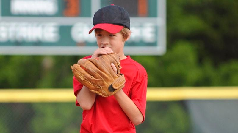 Illustration for article titled Little League Pitcher Just Getting Fucking Shelled