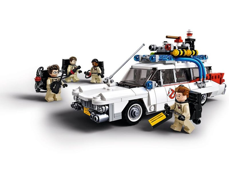 Illustration for article titled Here's the first look at the official Lego Ghostbusters CUUSOO set