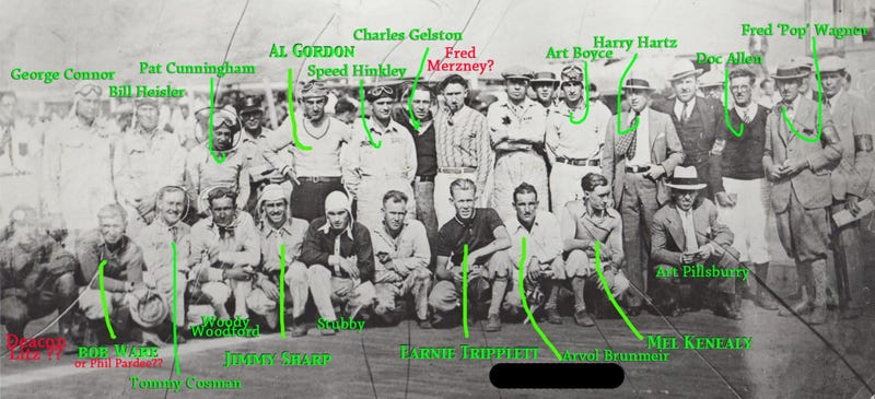 Illustration for article titled Help ID these old racers...