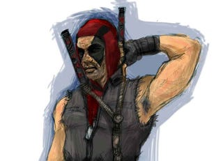Illustration for article titled Deadpool Could Have Looked So Much Cooler In Wolverine
