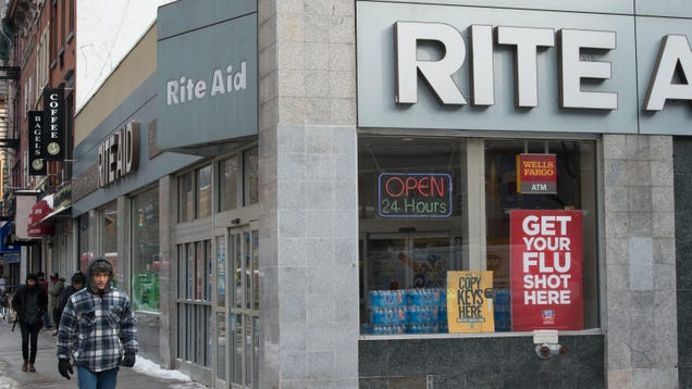 Yeah, So It Turns Out Rite Aid Has Been Using Face Recognition at Hundreds of Stores