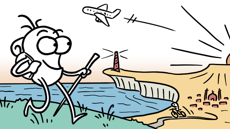 Illustration for article titled Get World Travel Tips From This Webcomic