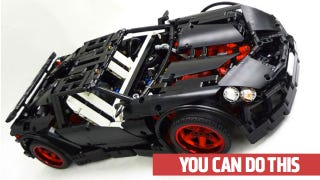 Illustration for article titled How To Build A Supercar Out Of Lego