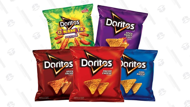 40-Pack Doritos Variety Snack Packs | $10 | Amazon | With Subscribe & Save and $5 coupon