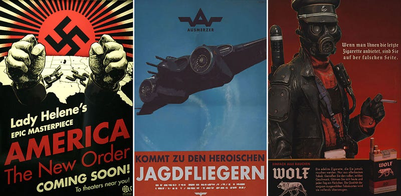 Illustration for article titled Wolfenstein's Posters Are Just The Best