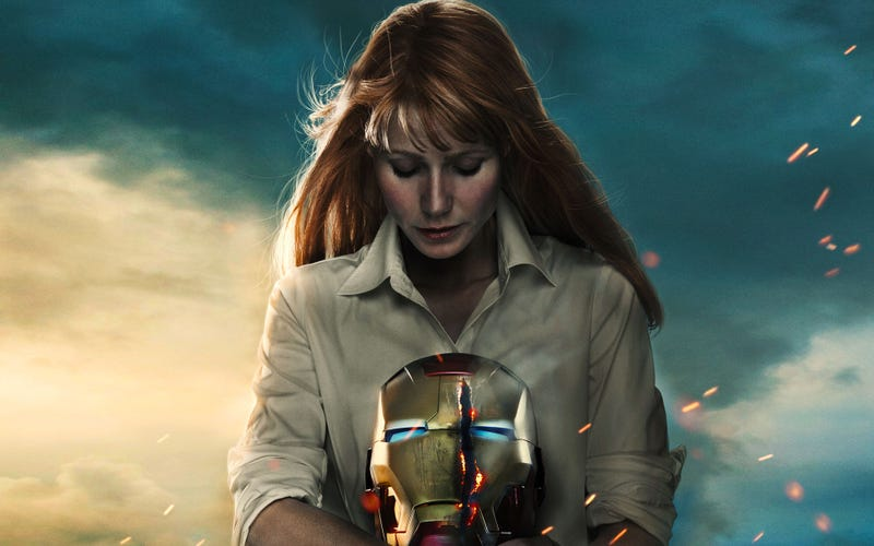 Pepper Potts en Iron Man 3.