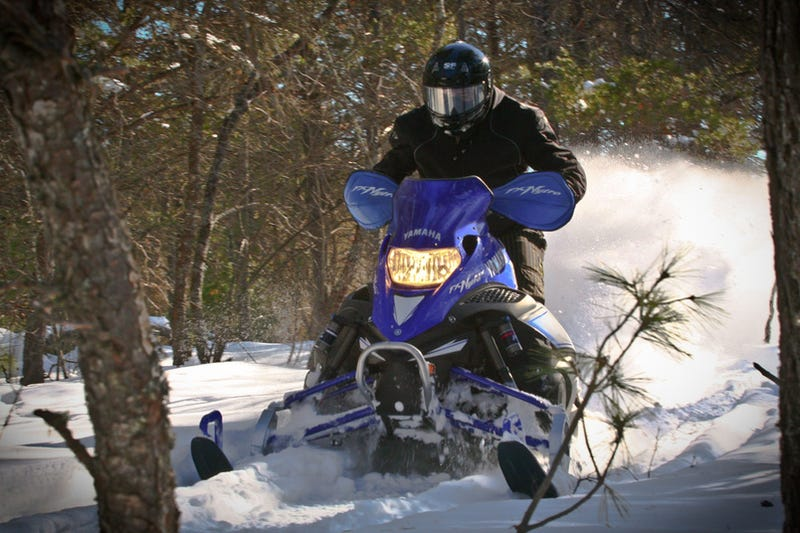 Illustration for article titled 2009 Yamaha FX Nytro RTX SE: First Ride