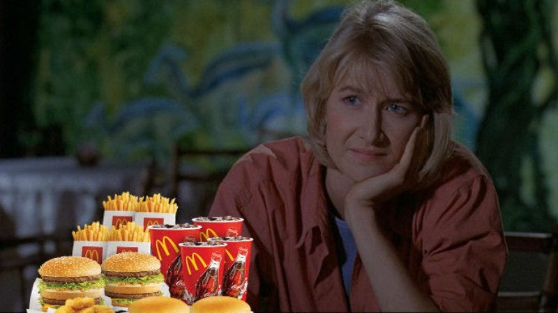 Illustration for article titled Laura Dern might join Michael Keaton in that McDonald's movie