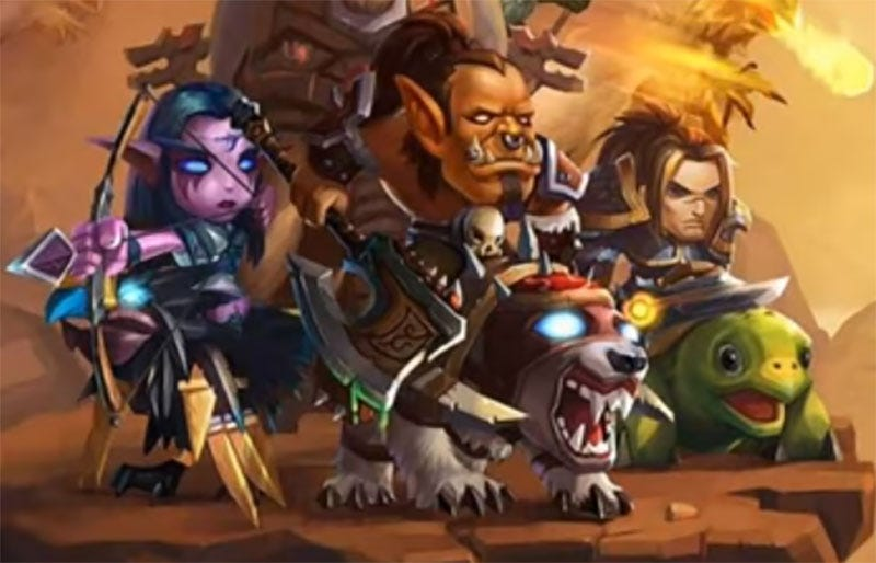 Illustration for article titled Blizzard Sues Shameless WarCraft Rip-Off
