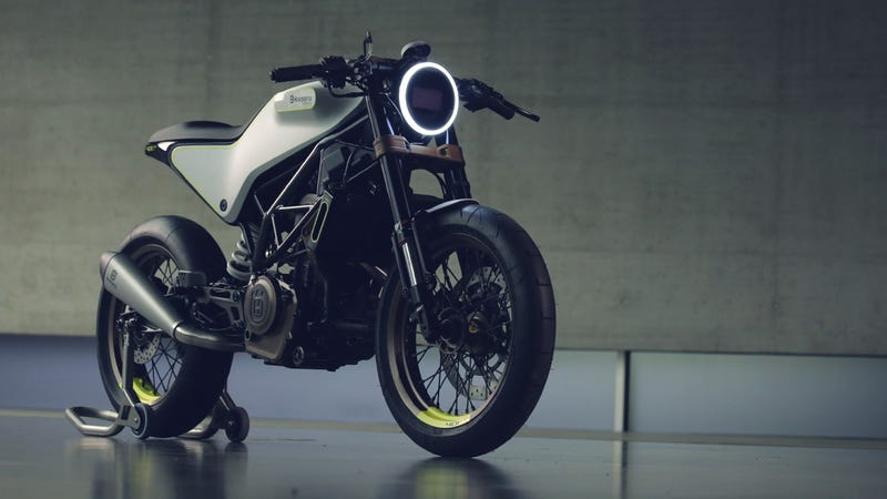 Illustration for article titled These Killer Husqvarna Concepts Are Retro Futurism Done Right