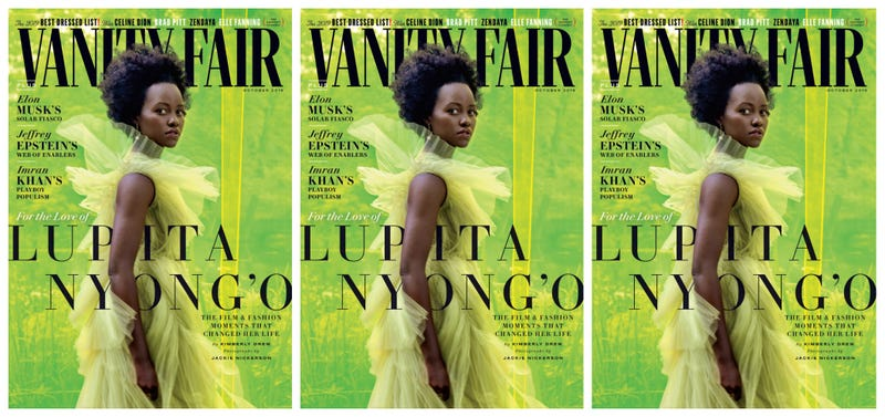 Illustration for article titled Lupita Nyong'o Stuns on Vanity Fair's October Cover