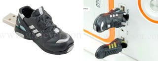 Illustration for article titled USB Shoe Drives Pioneer ShoeSB Technology