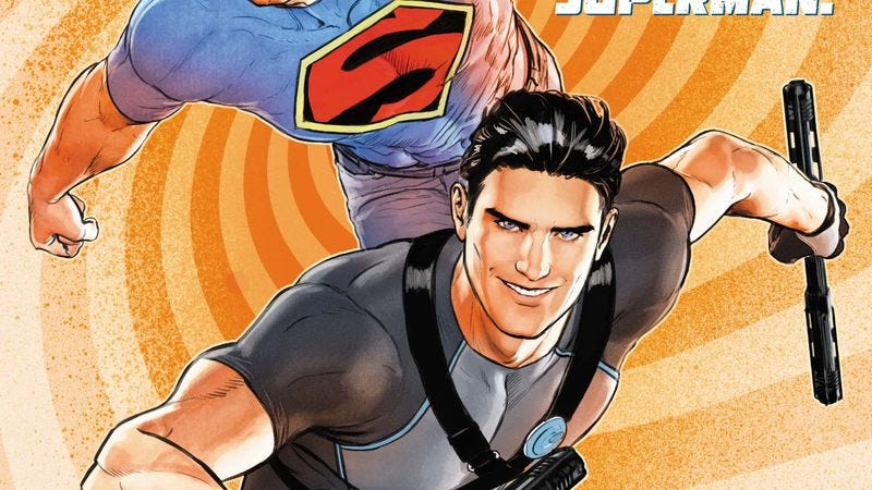 Illustration for article titled Exclusive DC preview: Dick and Superman team up in Grayson Annual #2