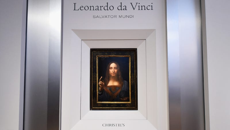 Illustration for article titled Buyer Of $450 Million Da Vinci Painting Sort Of Assumed It Would Come With Frame