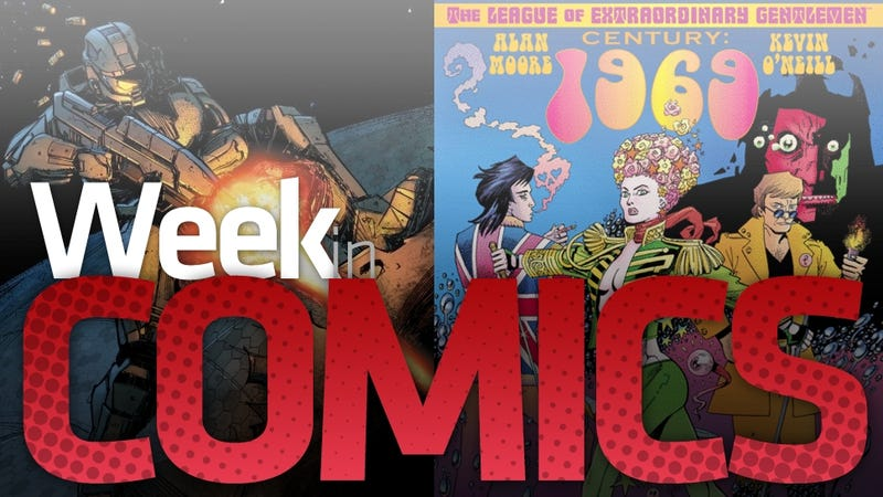 Illustration for article titled A new League of Extraordinary Gentlemen and more Halo are Among the Biggest New Comics of the Week