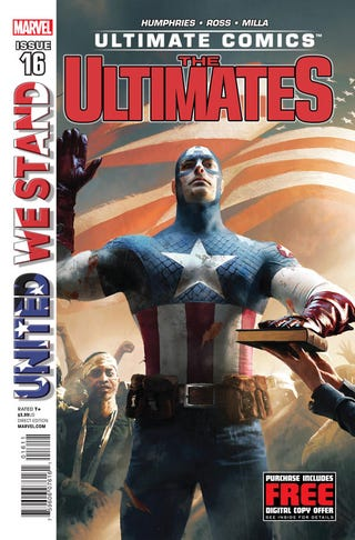Illustration for article titled Captain America Gets Sworn in President of the United States