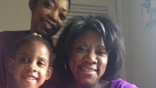 The author with her daughter and motherCourtesy of Stacia L. Brown