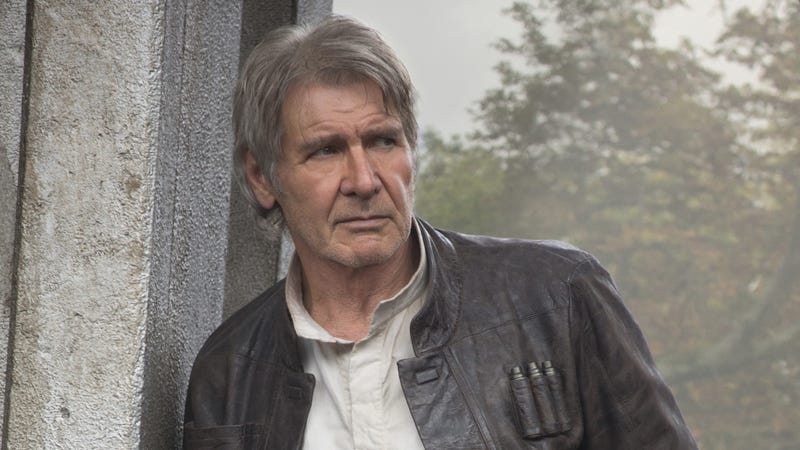 The death of Han Solo will reverberate in The Last Jedi. Image: Disney