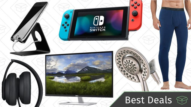 Saturdays best deals nintendo switch massive monitor delta iottie smartphone car mounts a reader favorite shower head and a discounted nintendo switch lead off saturdays best deals from around the web fandeluxe Choice Image