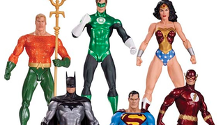 Illustration for article titled Alex Ross' Justice League Designs Are Getting Snazzy Action Figures