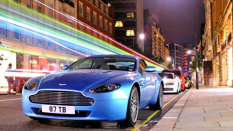 Illustration for article titled Your amazingly colorful Aston Martin wallpaper is here