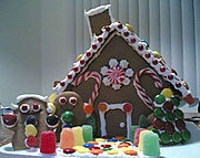 Illustration for article titled Build your own gingerbread house