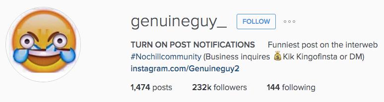 Dear God: Please Let Instagram's Algorithm Put Shitty