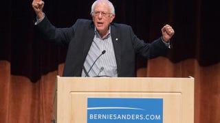 Democratic presidential candidate Sen. Bernie Sanders of VermontScott Olson/Getty Images