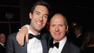 Illustration for article titled Michael Keaton's Son Wins Most Bangable Son at the Golden Globe Awards