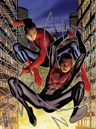 Illustration for article titled (UPDATED) It's official: Miles Morales to replace Peter Parker