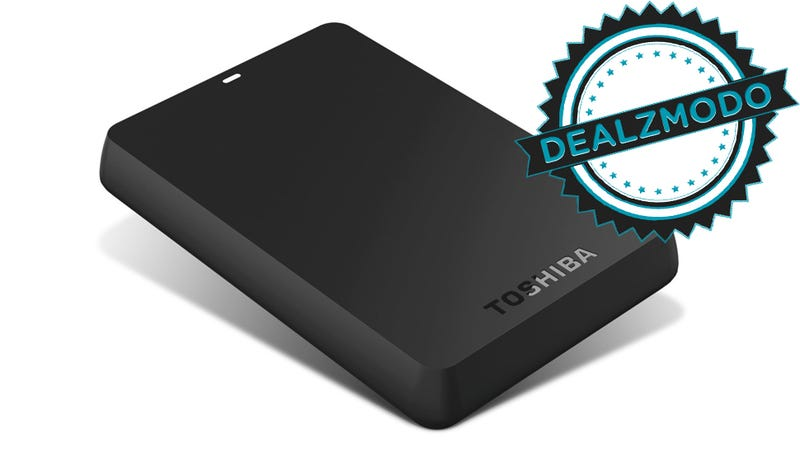 Illustration for article titled A Terabyte of Portable Storage for $60 Is Your Deal of the Day