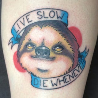Illustration for article titled On the list of tattoos I'm not cool enough for: