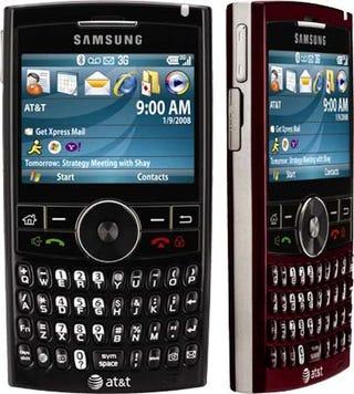 Illustration for article titled Blackjack 2 Unveiled as Samsung i617?
