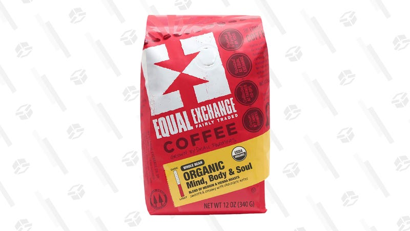 Equal Exchange Mind Body Soul Blend Organic Coffee Bean (12 oz.) | $3 | Amazon