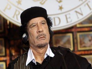 Slain dictator Col. Muammar Qaddafi (Getty Images)