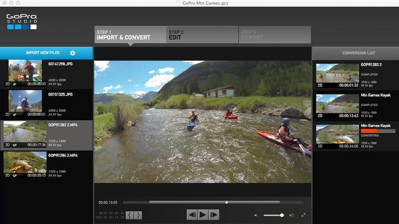 Illustration for article titled GoPro Studio 2.0 Hands-On: Easier, Awesomer Videos (UPDATE)
