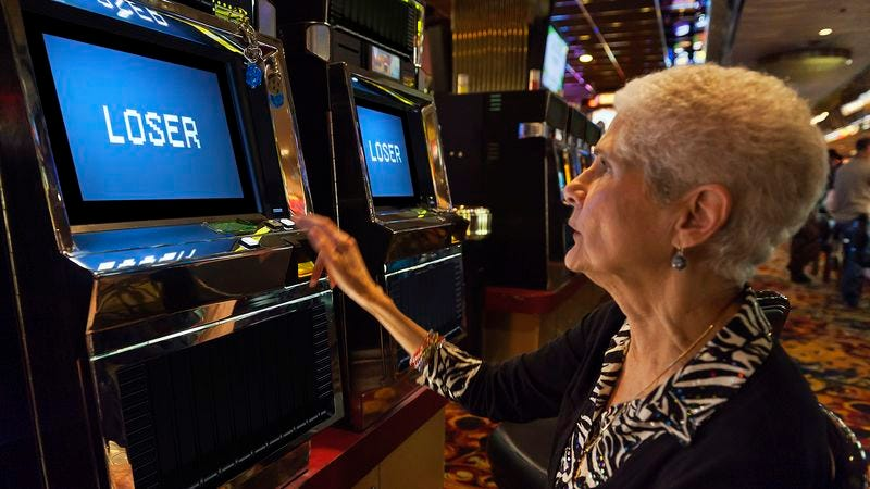 The Lose Your Dollar machine, which offers 0-100 odds of winning and no jackpot whatsoever, is said to be among the Bellagio's most popular slots.