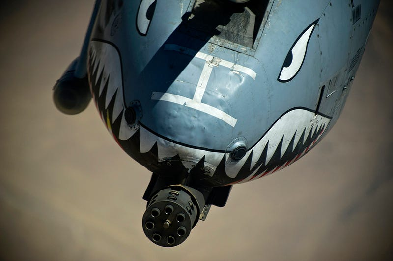 Illustration for article titled Russia Says A-10s Struck Targets In Aleppo And Warns Of World War If Arab Troops Invade