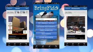 Illustration for article titled BringFido App Finds Pet-Friendly Hotels, Dog Parks, and Restaurants